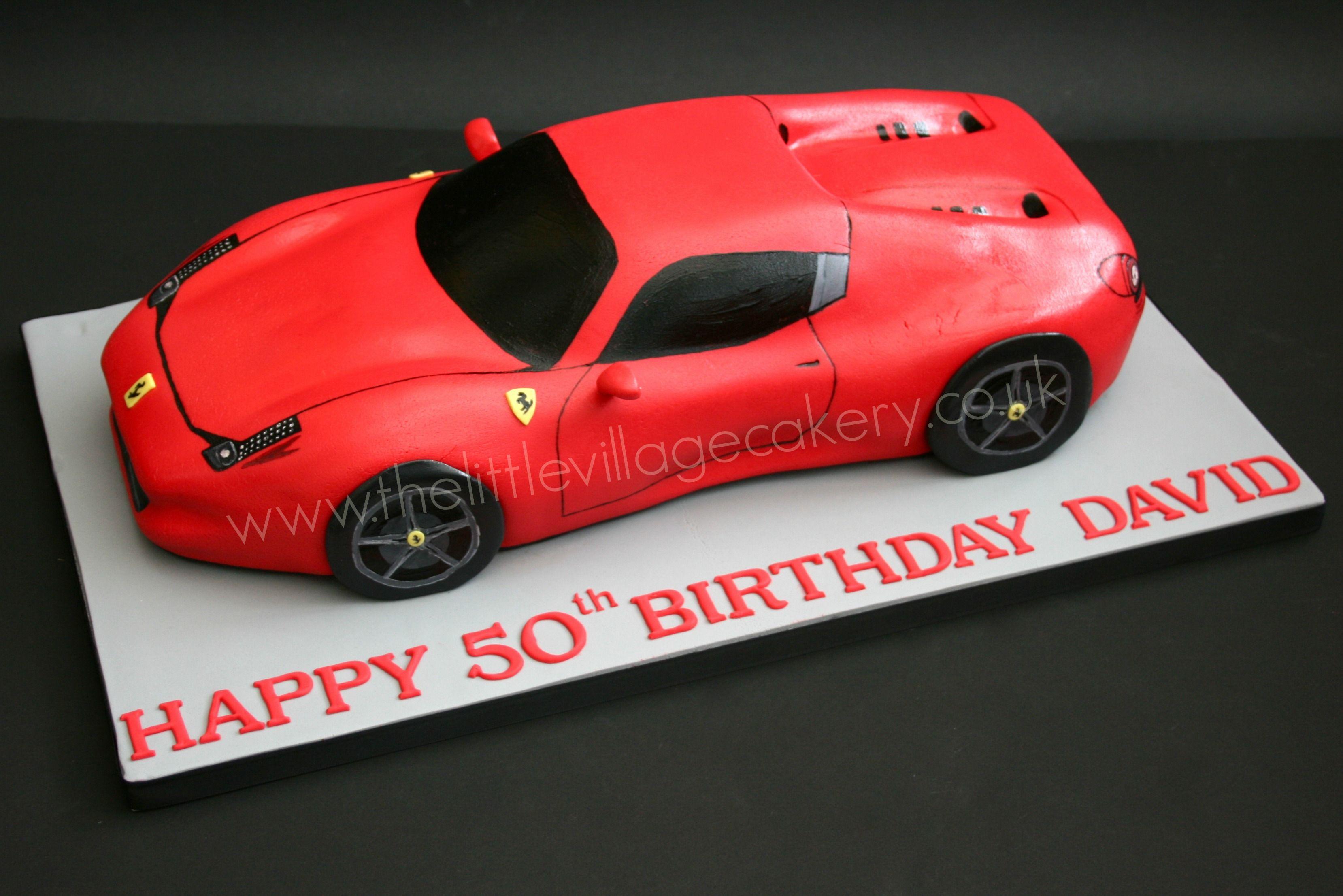 Ferrari Cake Cars Birthday Cake Ferrari Cake Car Cake