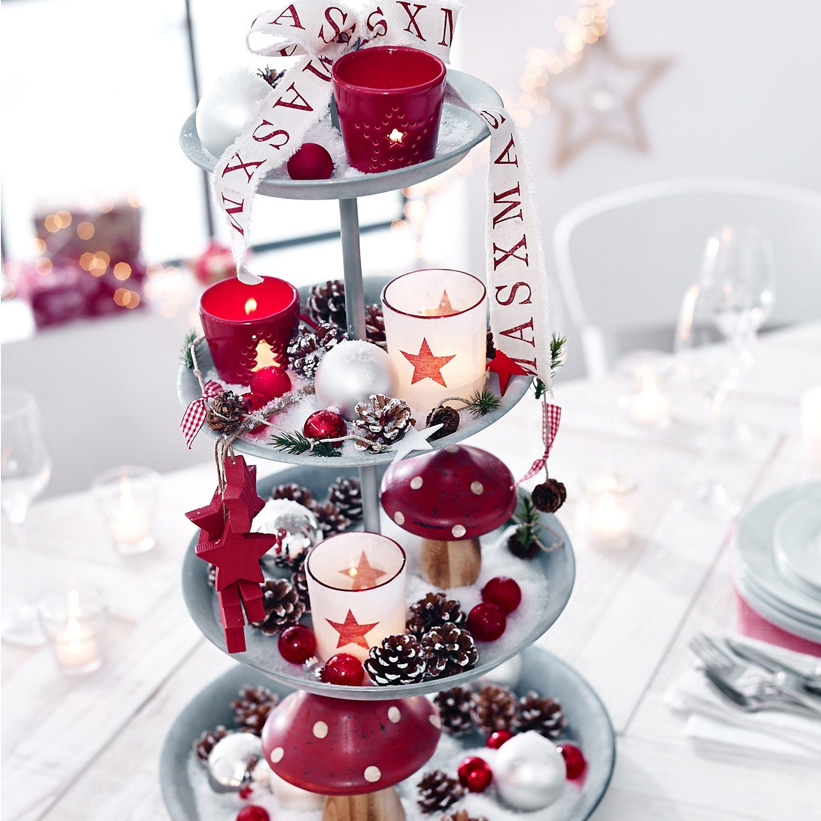 Set Etagere Inkl Dekoration (gesehen Im Flyer). Einmachglas  WeihnachtenWeihnachten ...