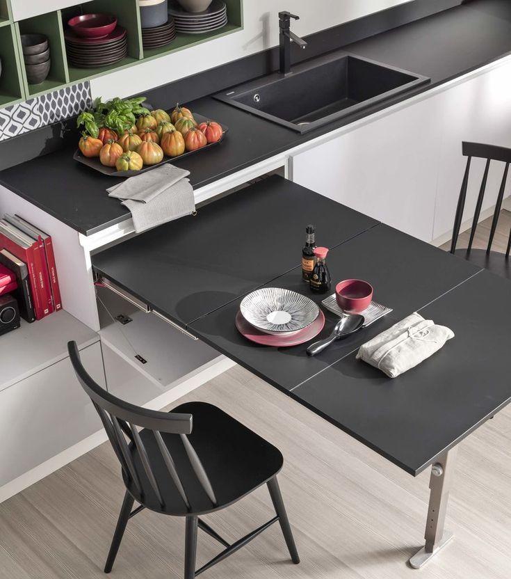 Tavoli Da Cucina Piccole Dimensioni.Il Tavolo Allungabile T Able E Ideale Per Cucine Di Piccole