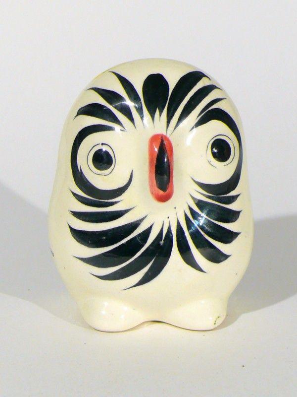 SOLD! Mid century Tonala owl from Mexico.
