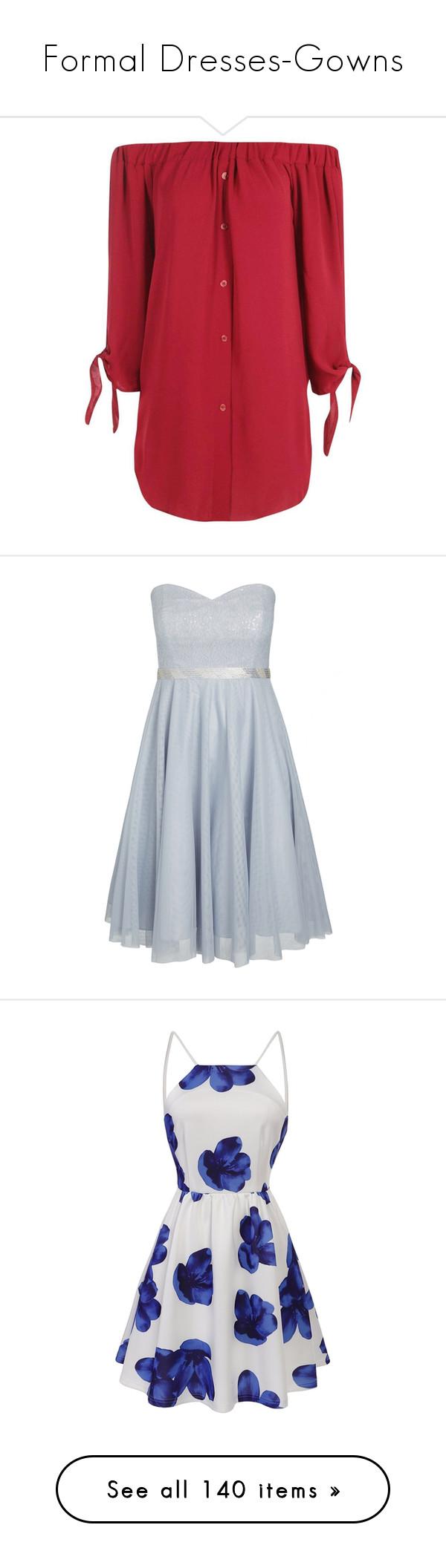 Formal dressesgowns