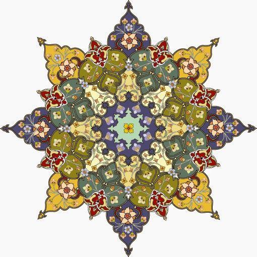 موسوعة صور المهندسة زخارف اسلامية 7 امتداد Eps Islamic Art Pattern Pattern Art Arabesque Design