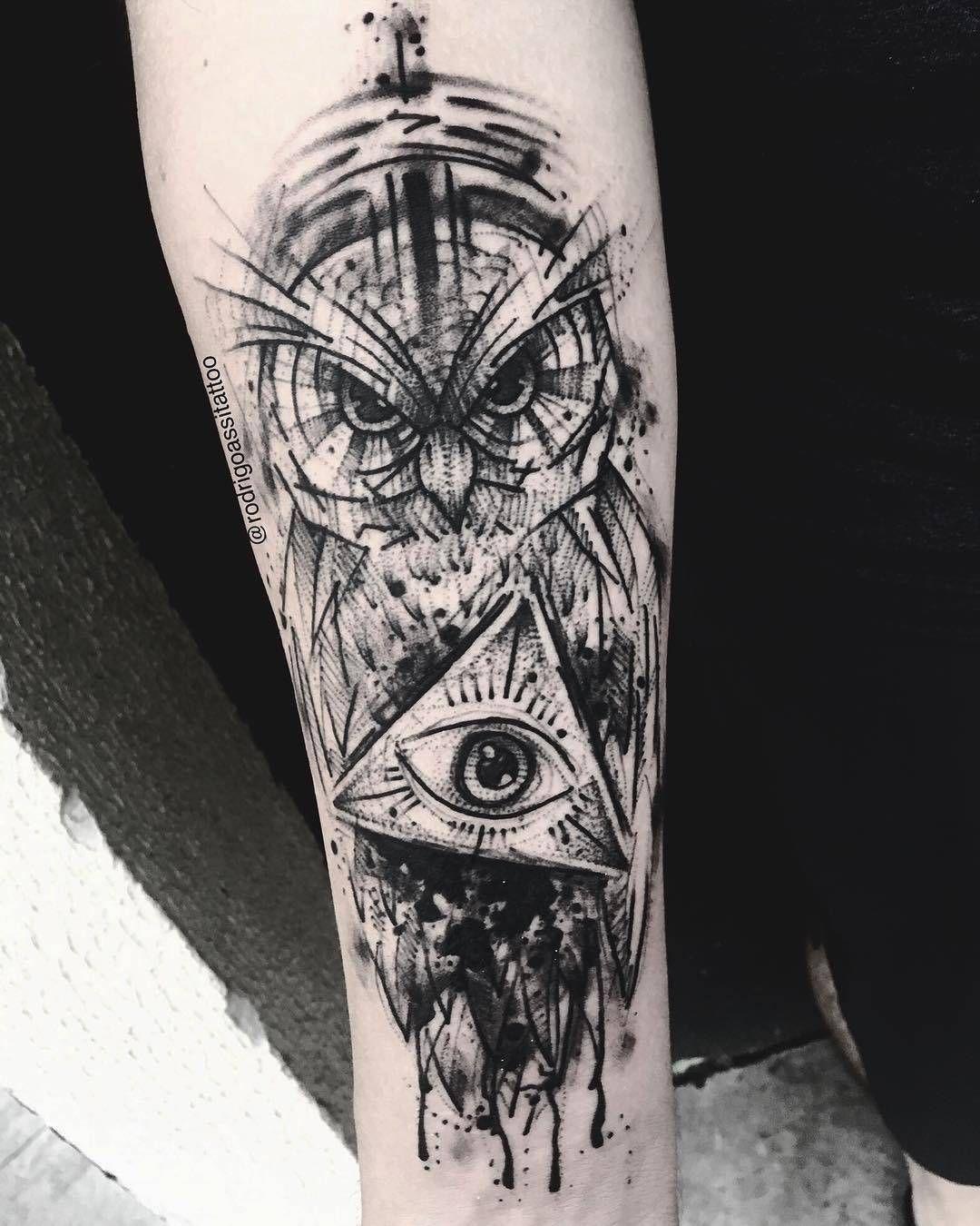 Rodrigo Assi Sketch Tattoos In 2020 Sketch Style Tattoos Tattoo Sketches Tattoos