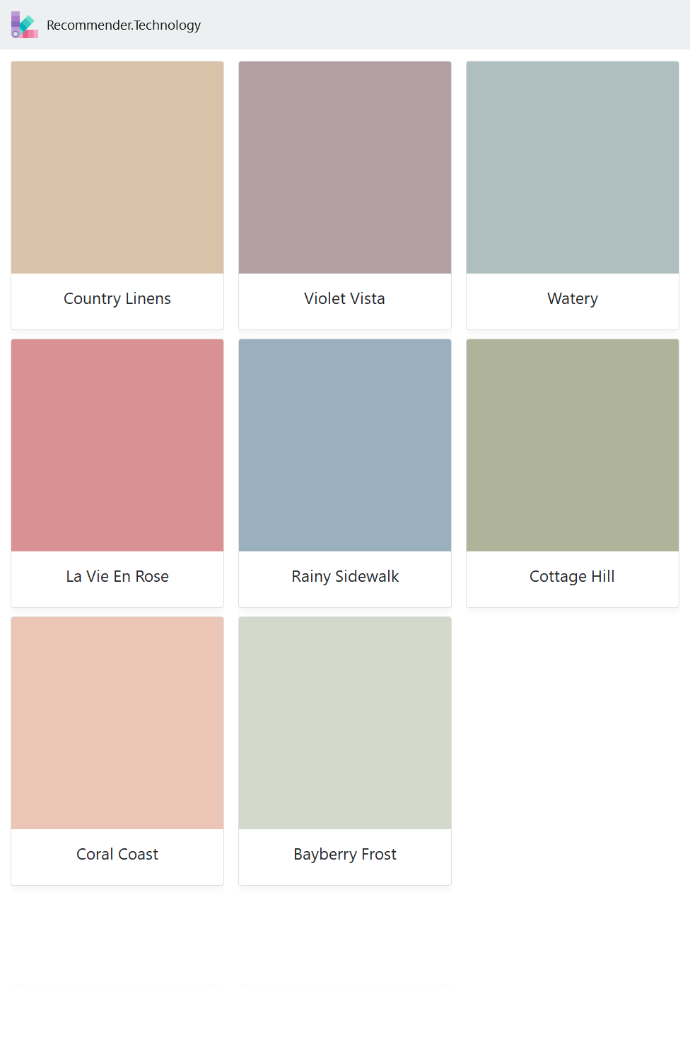Country Linens La Vie En Rose Coral Coast Violet Vista Rainy Sidewalk Bayberry Frost Watery Cot Behr Marquee Paint Behr Paint Colors House Color Schemes