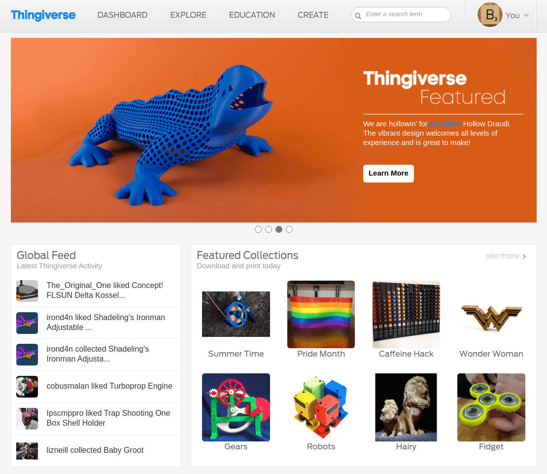Image of Best Sites for Free STL Files / 3D Printer Models
