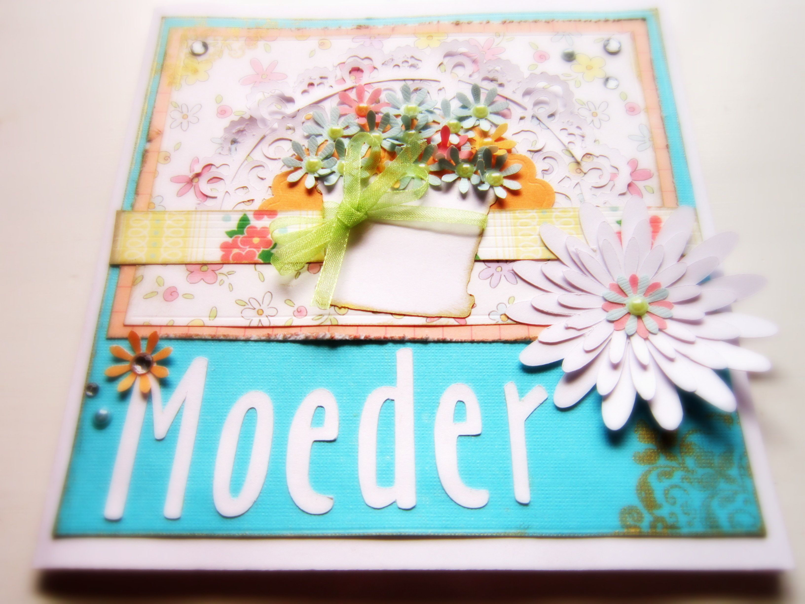 mother's day card in afrikaans  cards handmade paper