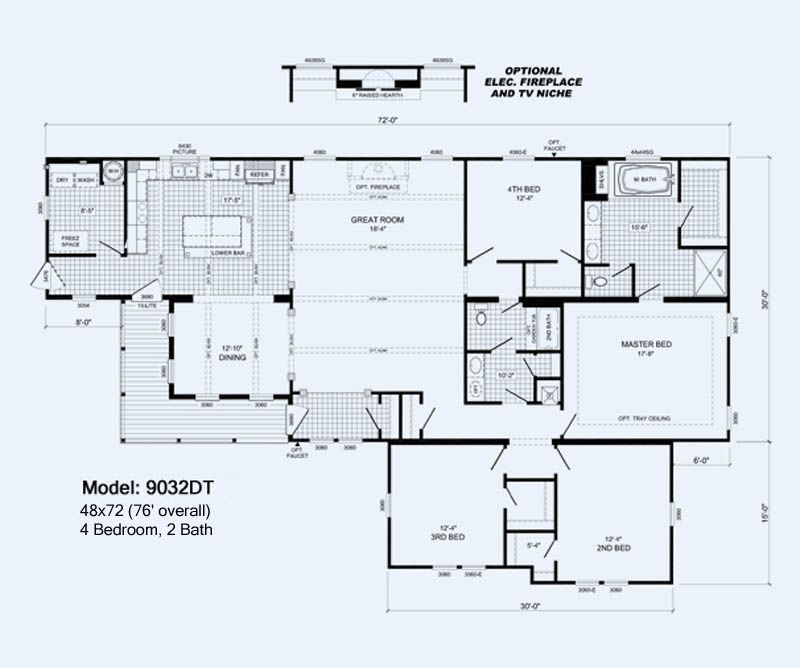 15 The Mcgarrity The Home Place Birmingham Al Modular Home Floor Plans House Floor Plans Floor Plans