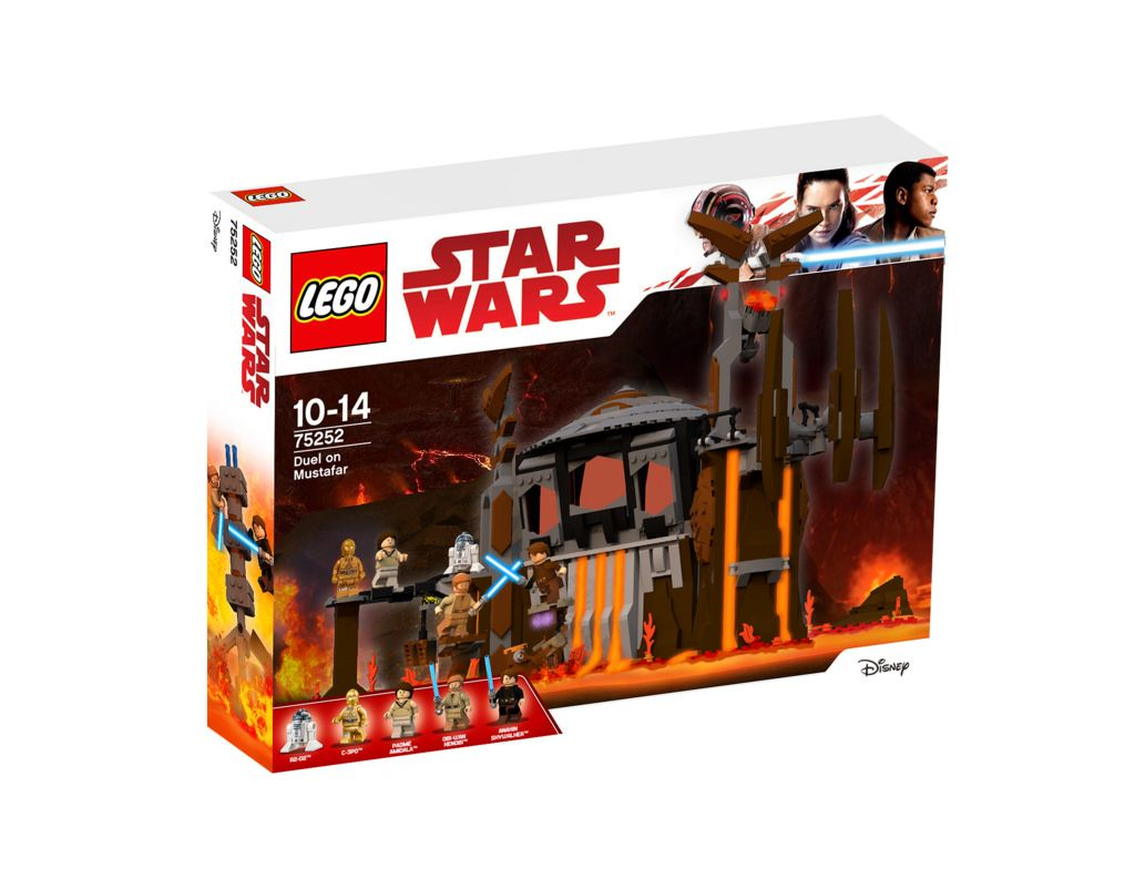 75252 Duel On Mustafar Lego Star Wars Lego Star Wars Sets Star Wars Toys