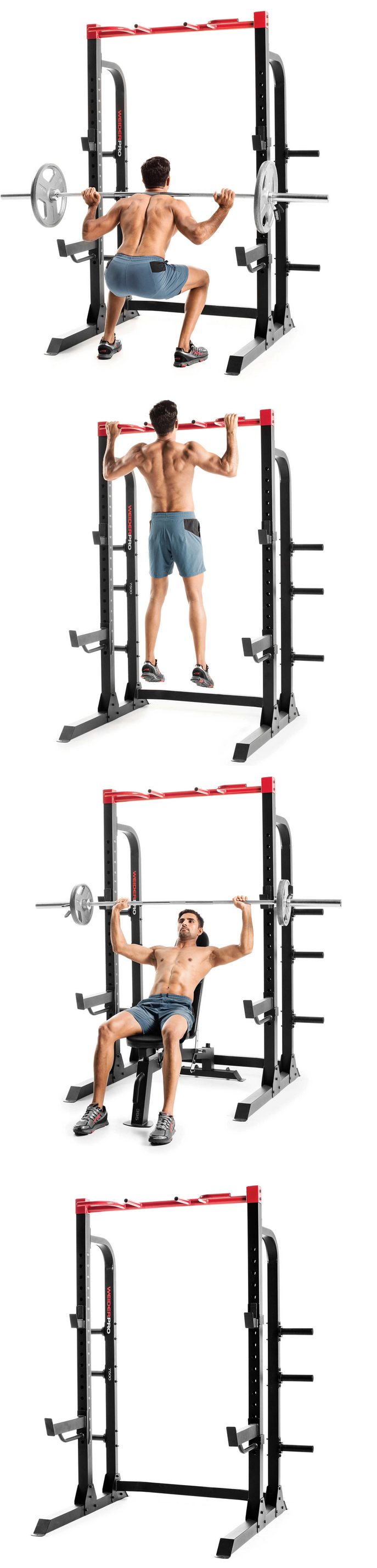 Weight Storage Weider Pro Half Rack Home Gym