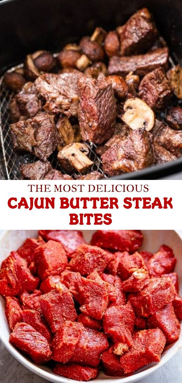 Photo of THE MOST DELICIOUS CAJUN BUTTER STEAK BITES YOU WILL EVER FI…