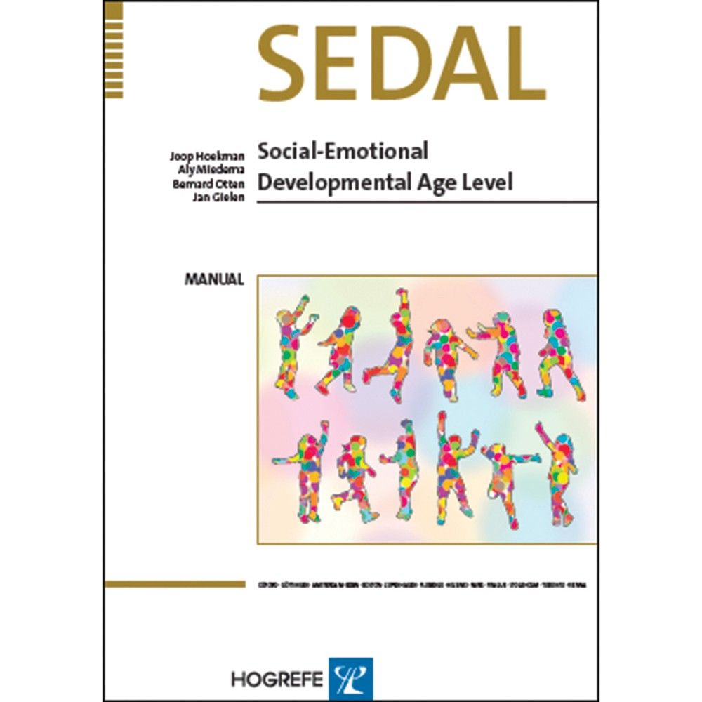 A simple to administer behavioural assessment scale. Establishes the social-emotional progress in children and adults with a developmental age ranging from 0-14 years. Test results deliver crucial information to support ongoing positive growth and development.Effective for children with normal development or intellectual disabilities and also appropriate for adults who have intellectual disabilities or delayed development. SEDAL measures and calculates a developmental age for Social and…