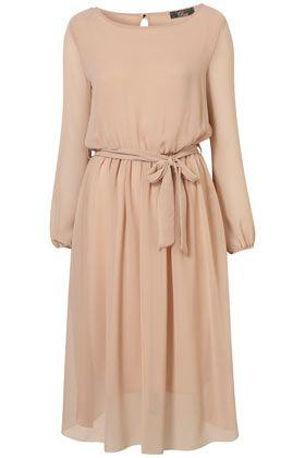 Slit Back Midi Dress by Rare**        Price: € 55,00