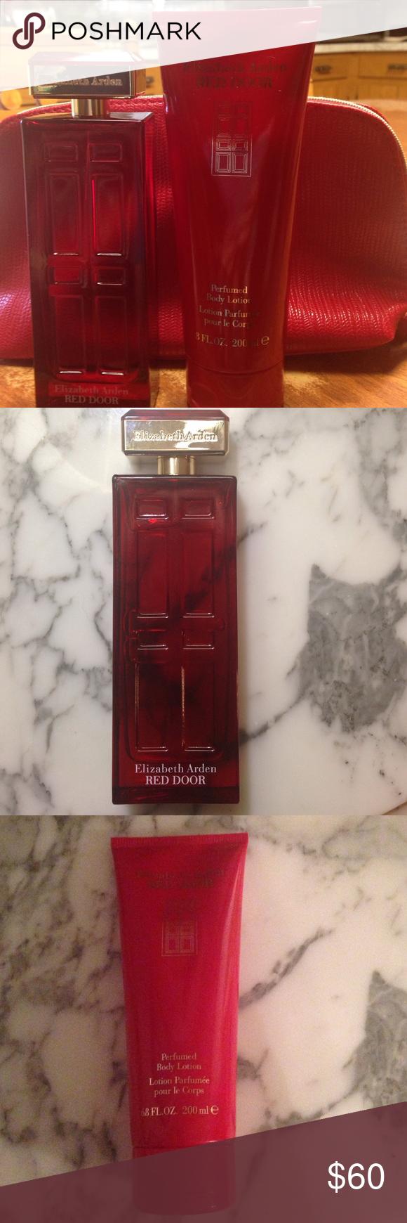 Elizabeth Arden Red Door Gift Set Pinterest Red Door Perfume
