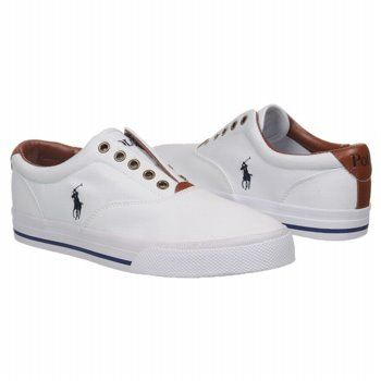 660cf2ba8 Men s Polo by Ralph Lauren Vito Slip-On Sneaker White Shoes.com ...