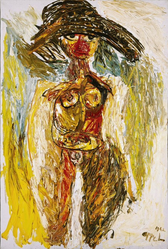 Karel Appel - Machteld (1961)