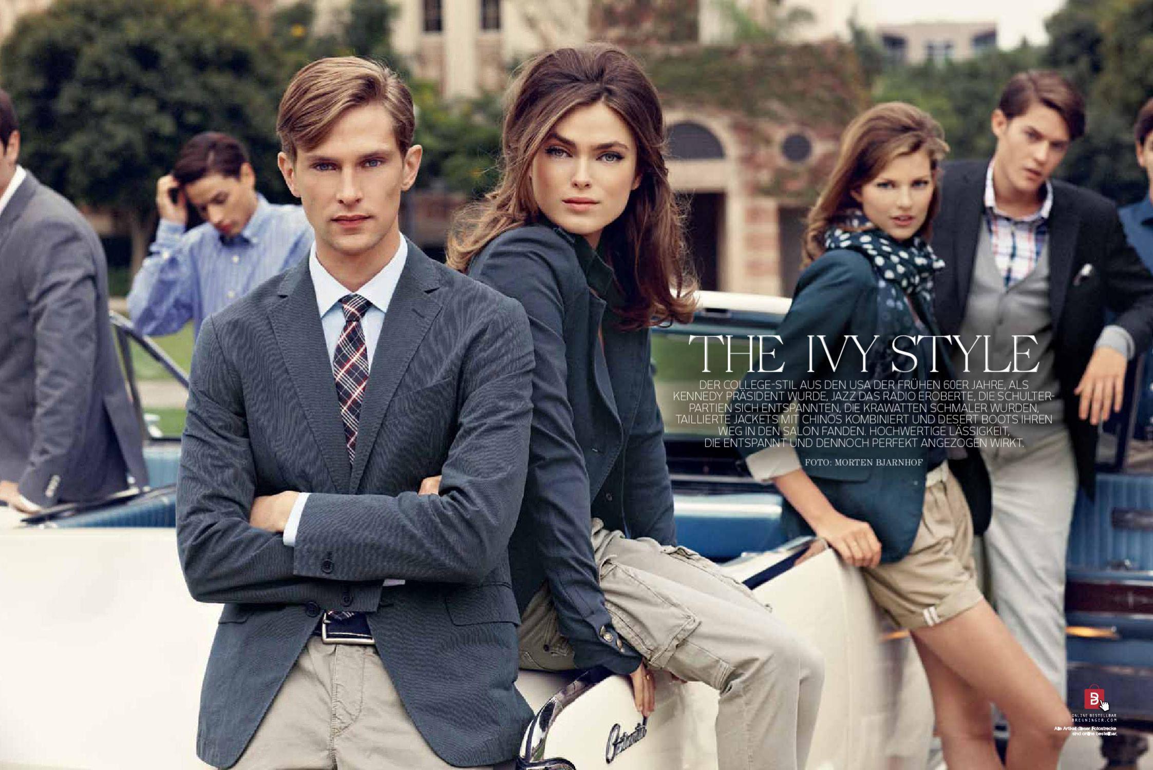 0af8cd07c2167 The Ivy Style Breuninger Magazine - Spring 2011 Preppy Prep