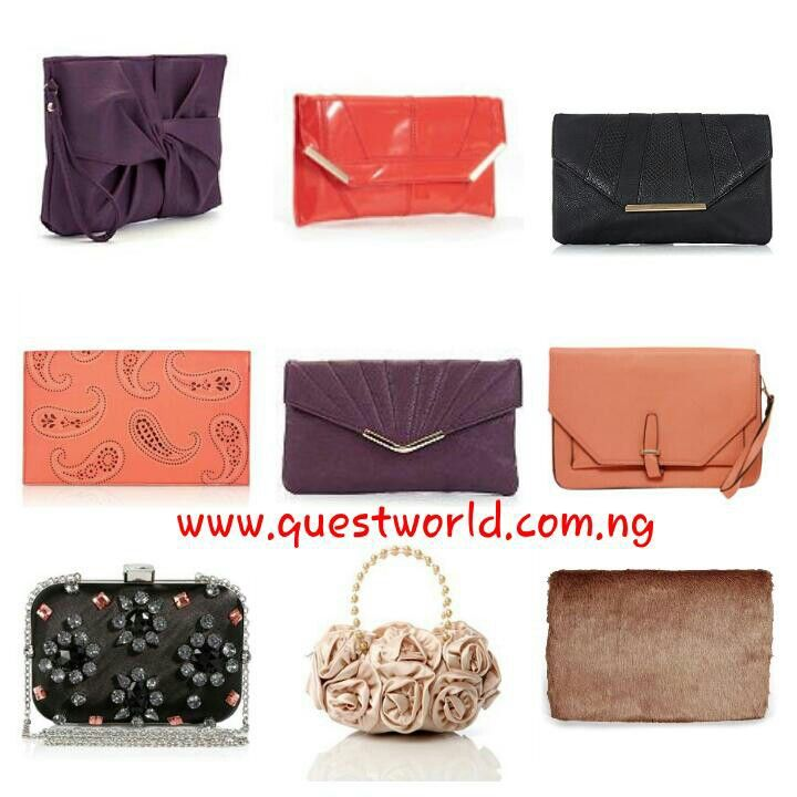 Friday! #Clutch Nationwide Delivery from 24hrs! Pay on delivery in Lagos State. Quest World Boutique, clothing people since 2010 www.questworld.com.ng