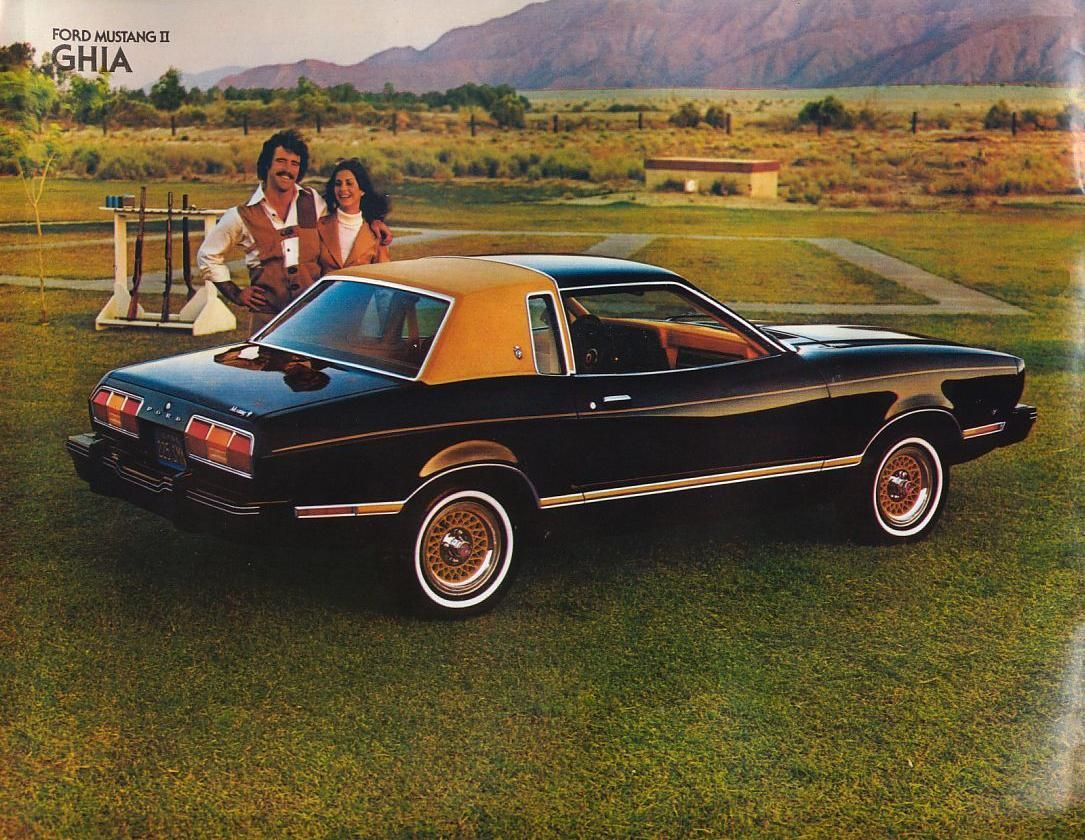 1978 ford mustang ii ghia with ghia sports option