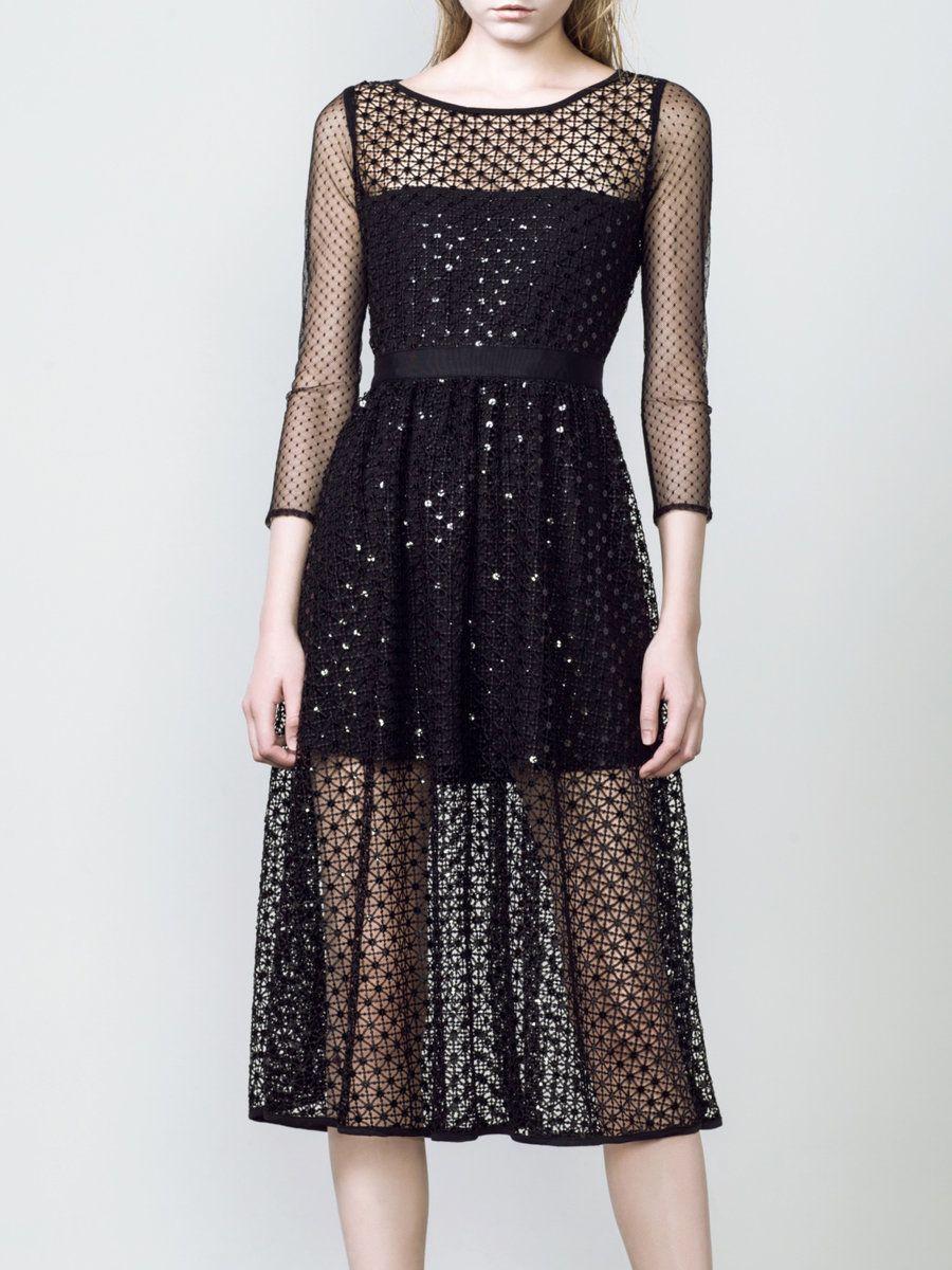 Black diamond midi dress adorewe designer sonia h