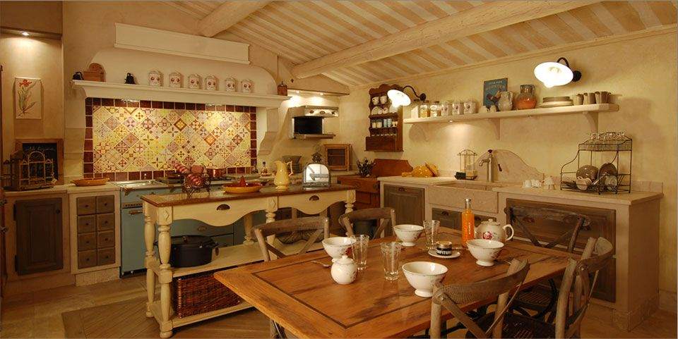 kitchens in provence france - Google Search