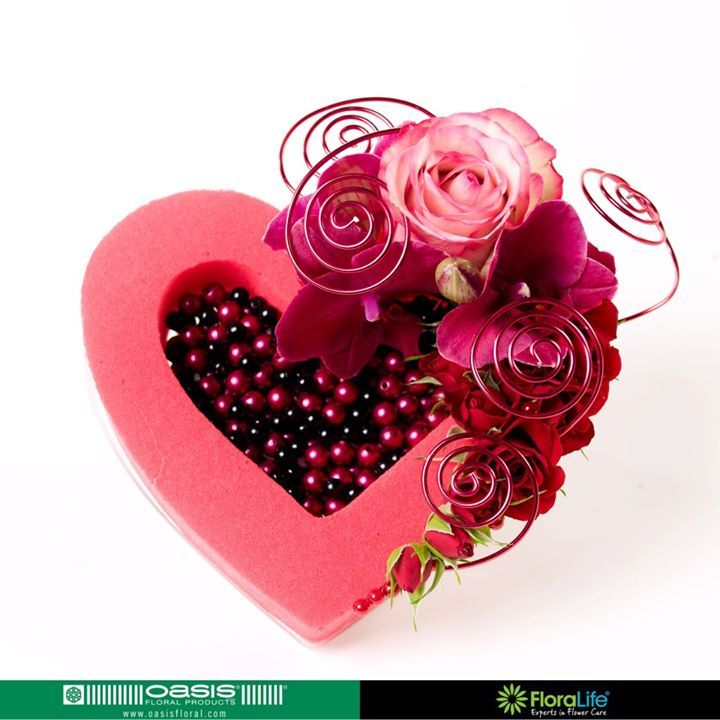 valentine's day flower arrangements oasis floral products benelux, Ideas