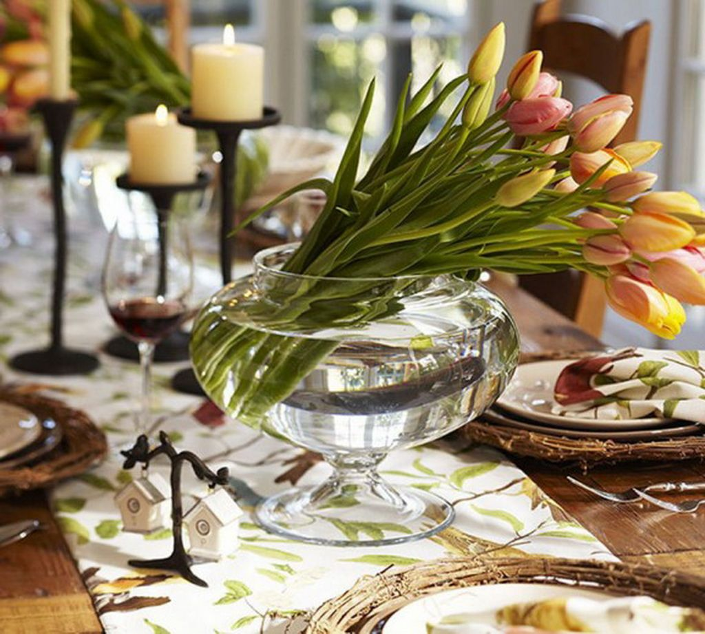 Table Decoration Ideas Christmas Decorations Kitchen Table Ideas