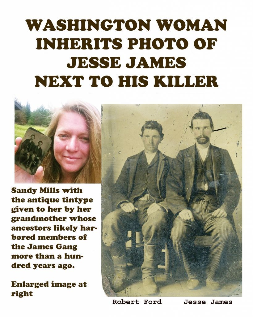 Lost Photo Of Jesse James Assassin Robert Ford Is Found Authenticated Jesse James Old West Outlaws Old West Photos