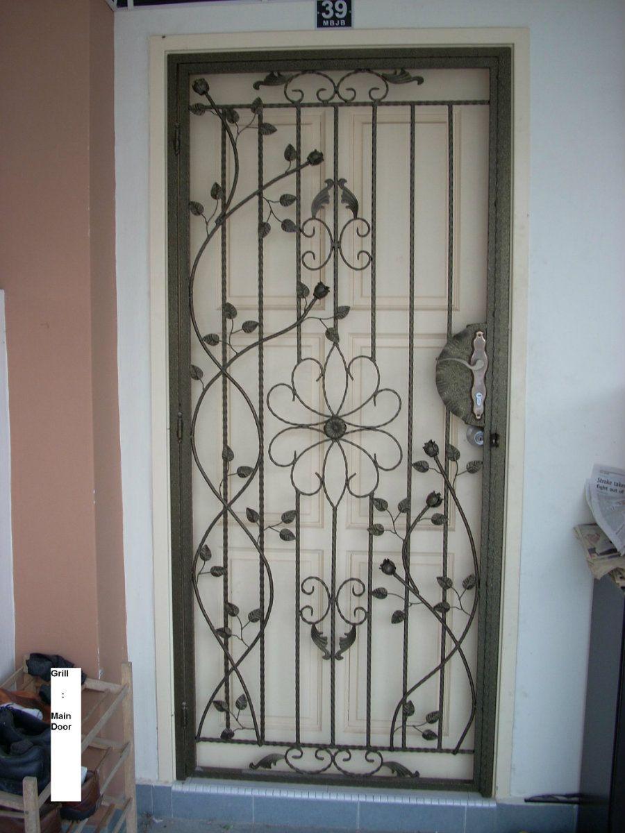 Grilled Door Designs u0026 Door Grilles Wine Doors & Grilled Door Designs u0026 Door Grilles Wine Doors | ventana segura by ...