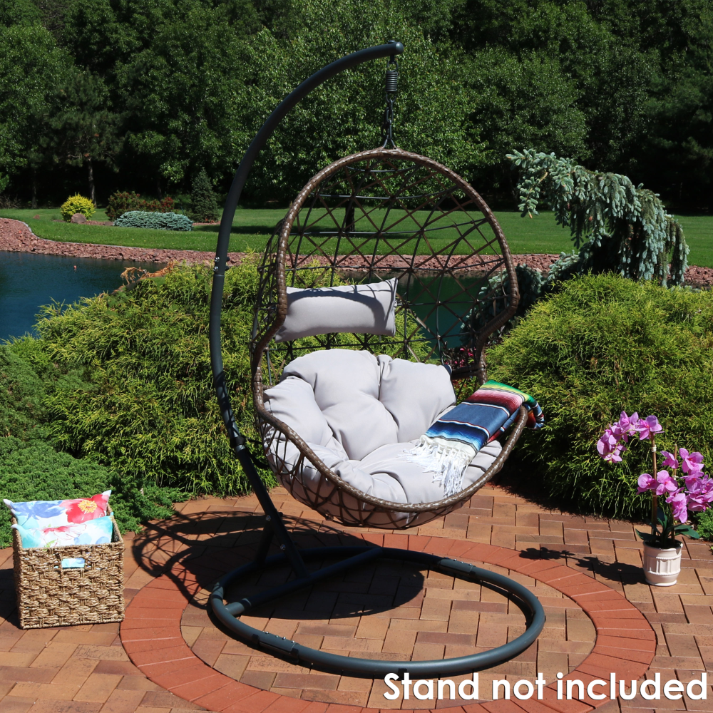 Patio & Garden in 2020 Hanging egg chair, Swinging chair