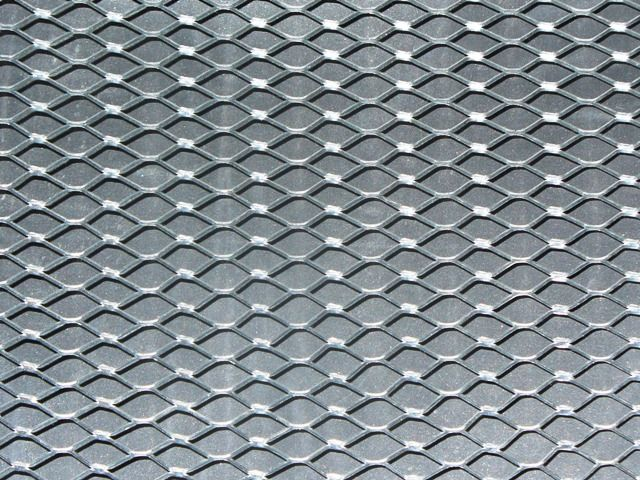 This expanded wire mesh is Lath used for stucco. I am sure you could ...