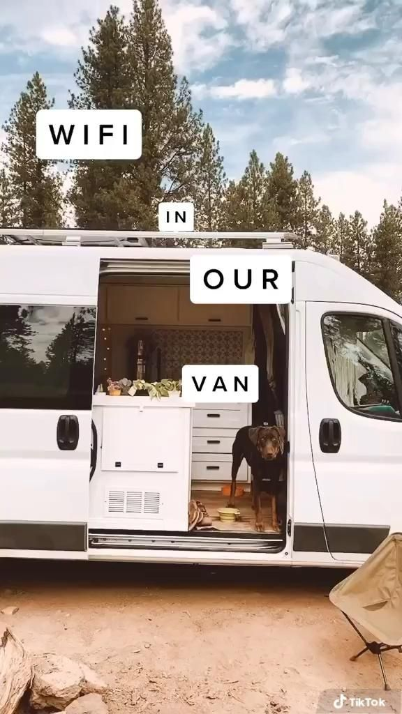Photo of Internet Connection in a Van