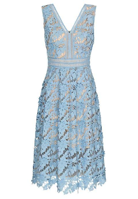 LILIAN - Cocktailkleid/festliches Kleid - blau | Zalando und Blau