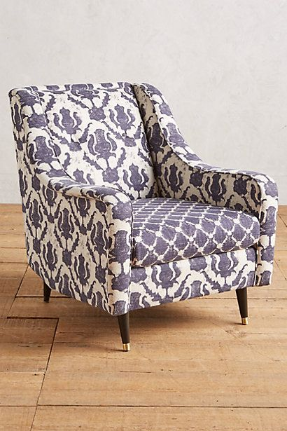 Thistle-Printed Adrie Chair #anthropologie
