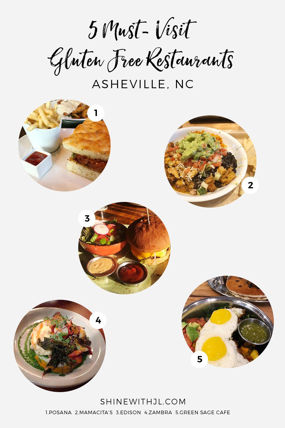 5 Must Visit Gluten Free Restaurants In Asheville Nc Posana Mamacita S Mexican Grill Gluten Free Restaurants Gluten Free Restaurant Menus Gluten Free Travel