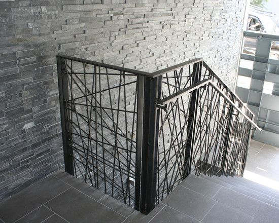 Staircase Vertical Wire Rail Design Pictures Remodel Decor And