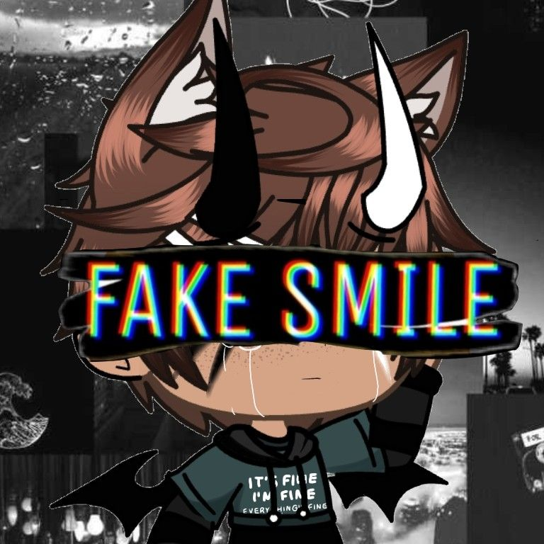 Randome Gacha Edit I Made Fake Smile Boy Character Cute Drawings