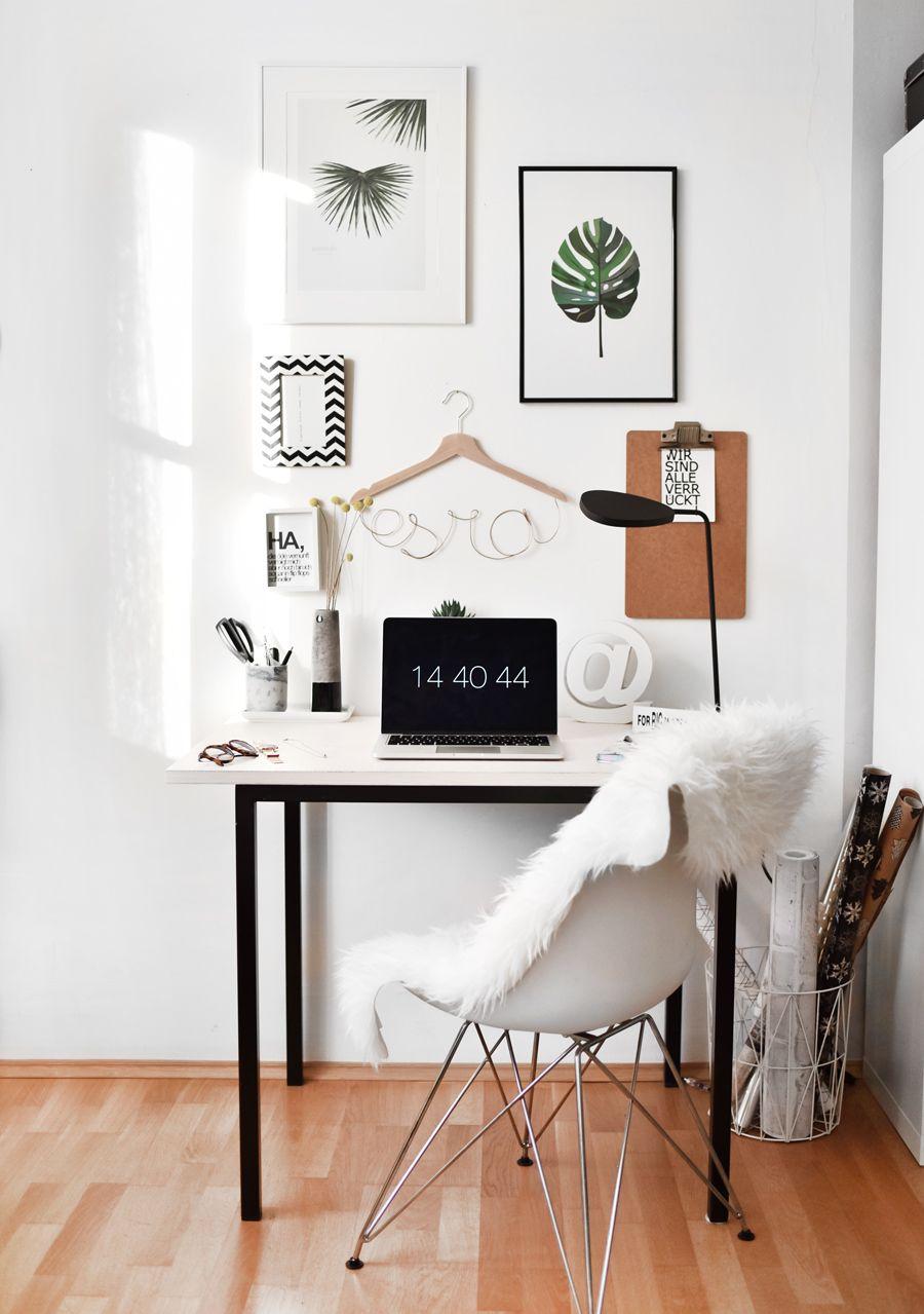 Desk Tisch Schreibtisch Buero Office Inspiration Inspo