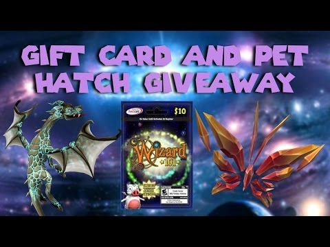 Wizard101 Gift Card (FREE CROWNS AND MEMBERSHIP) And Pet Hatch - free membership cards online