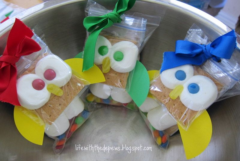Classroom Snack Ideas Kindergarten ~ Owl s mores dessert round up snacks creative and