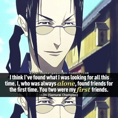 Samurai Champloo -Jin #quote #anime