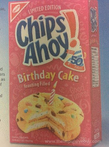 Brilliant Coming Soon Limited Edition Chips Ahoy Birthday Cake Frosting Funny Birthday Cards Online Fluifree Goldxyz