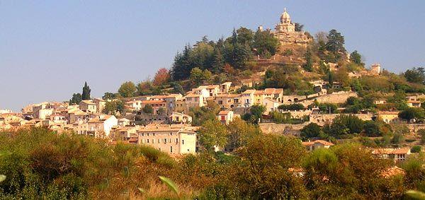 Forcalquier, alpes de haute provence