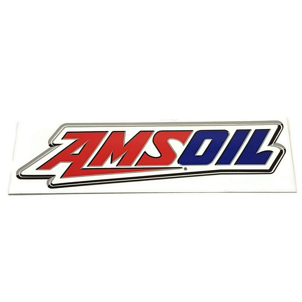 Amsoil Vintage New Old Stock Decal Motocross Racing Logo Sticker