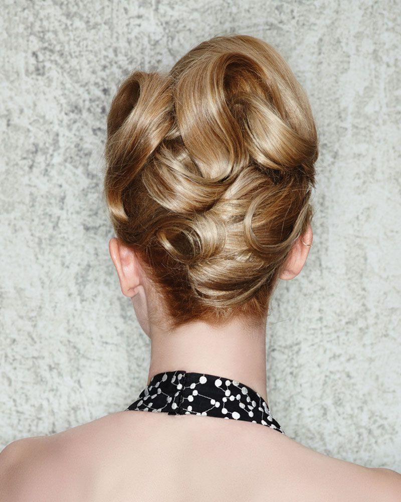 5 customizable updos by martin parsons | sound of music