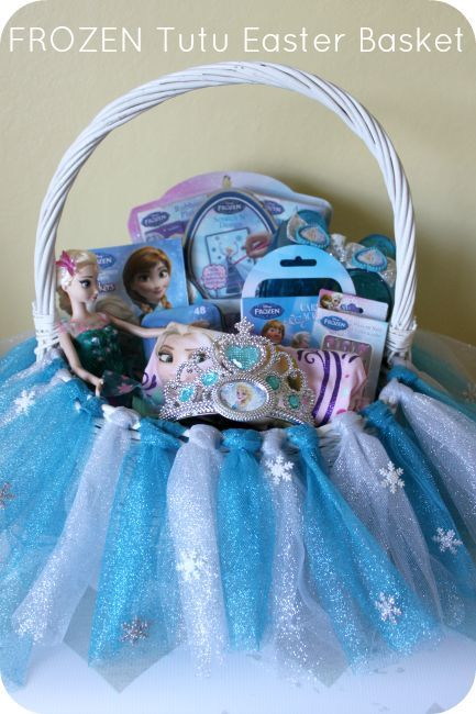 Diy frozen tutu easter basket tutorial disneyeaster easter diy frozen tutu easter basket tutorial disneyeaster negle Image collections