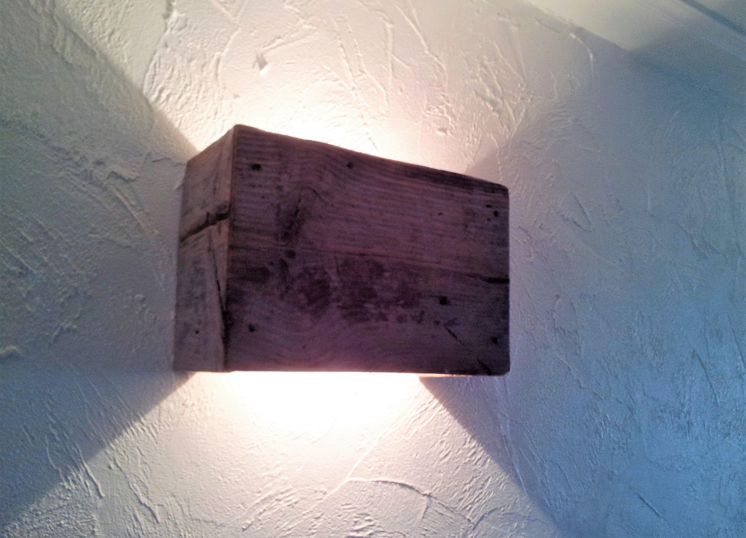 Wandlamp Steigerhout Slaapkamer : Wandlamp steigerhout living wandlamp studio en zwart