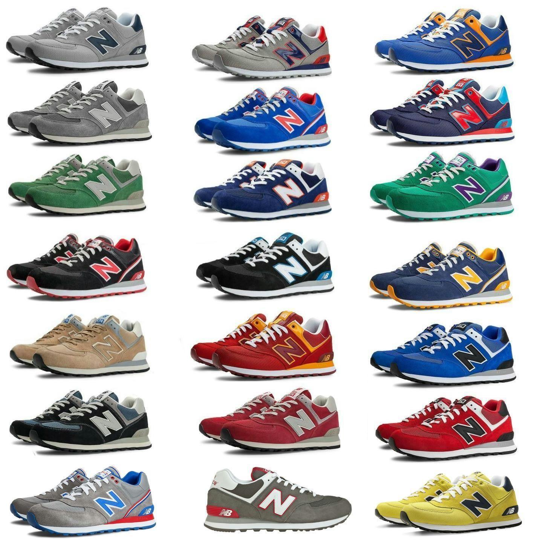 New Balance Ml574 Herren Damen Schuhe Turnschuhe Sneakers Freizeitschuhe Casual Sneakers New Blance Shoes Retro Sneakers