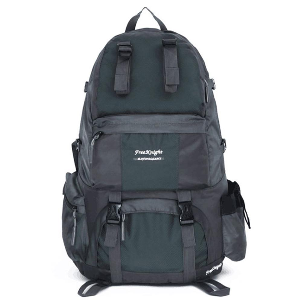 6b9addca1a42 North Sunshine Free Knight FK0218 50 l Outdoor Waterproof Nylon Hiking  Camping 10 in. Gray Backpack