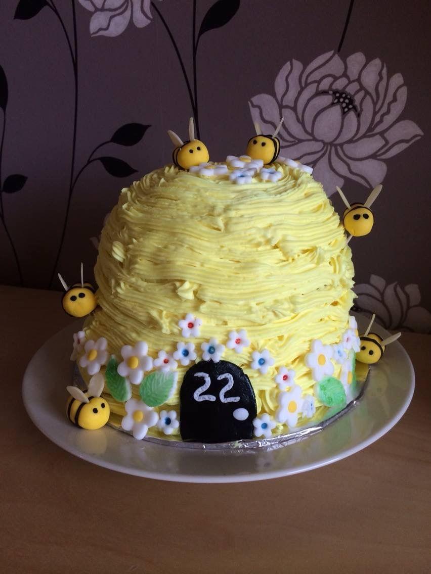 Birthday beehive