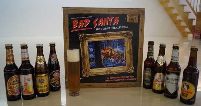 Ein kleiner Bieriger Vorgeschmack auf die Bad Santa Edition